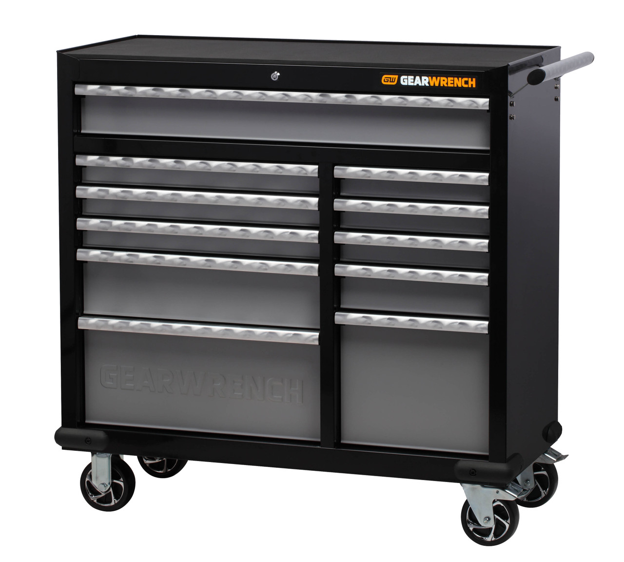 """Gearwrench 268 Pc Combination Tool Kit + 42"""" Tool Chest & Trolley"""