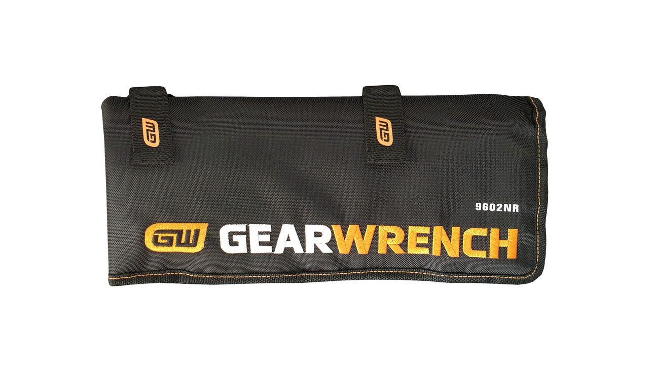 GEARWRENCH 16 PIECE METRIC REVERSIBLE RATCHETING COMBINATION WRENCH ROLL 9602NR