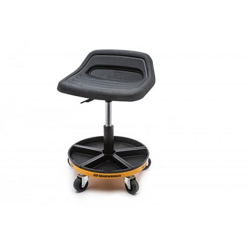 "Gearwrench Adjustable Height Swivel Mechanics Seat 18"" to 22"" 86994"