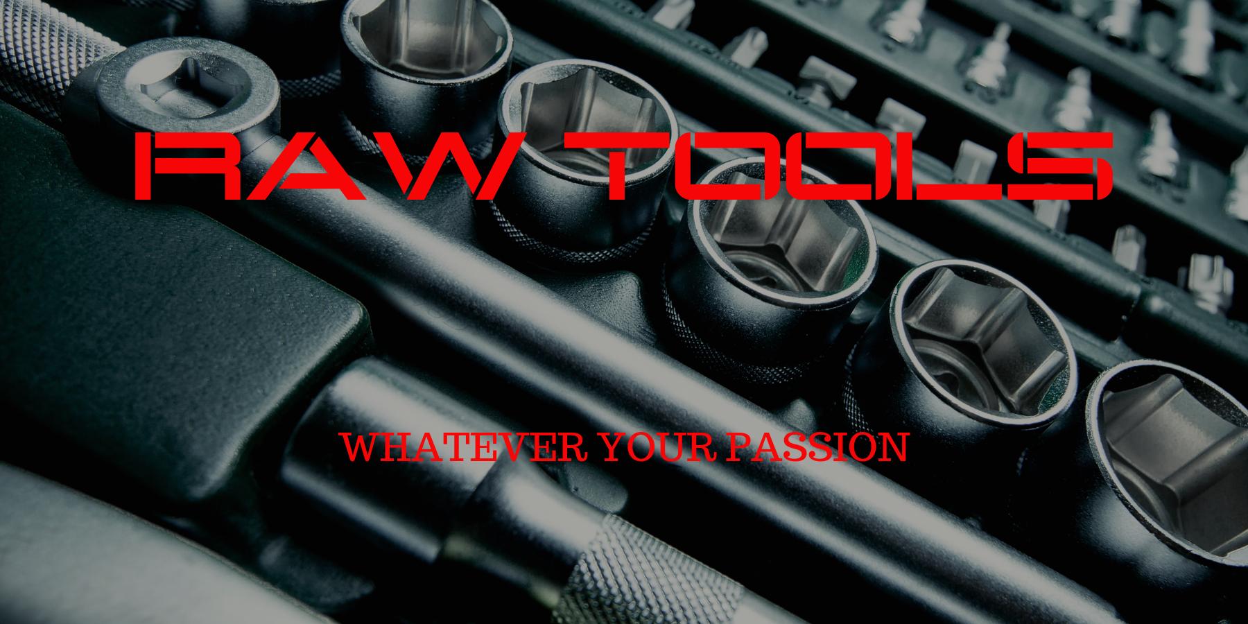 Raw Tools Australia home page