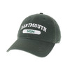 Green hat with 'Dartmouth Mom' across the front in white
