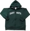 Youth Tailgater Hooded Zip Sweatshirt-Dartmouth