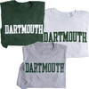 Adult Dartmouth T-shirt Blockword Long Sleeve