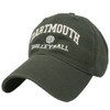 Green hat with 'Dartmouth Volleyball' in white across the front
