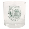Executive glass with Dartmouth Shield in green