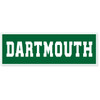 'Dartmouth' banner in green and white