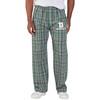 Green Plaid Flannel Pants