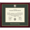 Diploma Frame Masterpiece Medallion in Gallery - Dartmouth