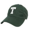Felt T Tuck School Green Hat