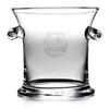 Simon Pearce Norwich Large Glass Ice Bucket - Dartmouth Shield
