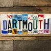 Dartmouth License Plate Art Sign