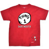 Youth Seuss Thing 1 Tee