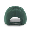 Back of baseball hat with 'Dartmouth' written on the strap