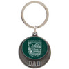 Dad Shield Key Chain