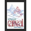 Framed 1960 Winter Carnival Poster