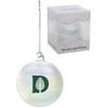 Iridescent D-Pine Ornament