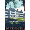 Unframed Dartmouth Hall Poster: Dartmouth 250th