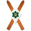 Wood Skis Ski Team Magnet Dartmouth