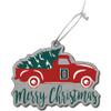 Acrylic Truck Merry Christmas Ornament Dartmouth