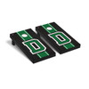 Onyx Stained Stripe D Cornhole Boards Game Set Dartmouth