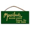 Moosilauke Famous Food Dartmouth Hanging Sign