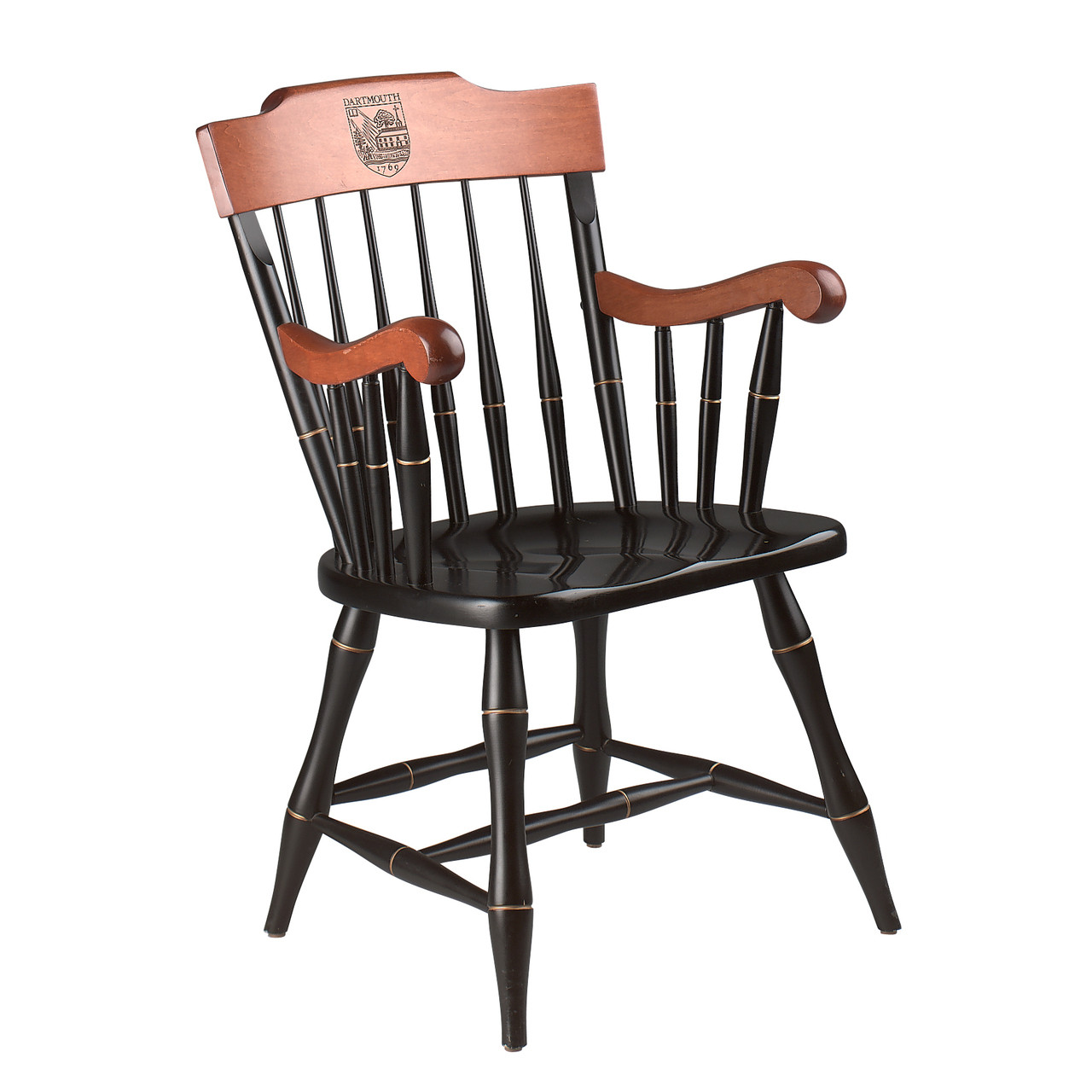sc 1 st  Dartmouth Coop & Dartmouth Wooden Captainu0027s Chair Captainu0027s Chair with Dartm