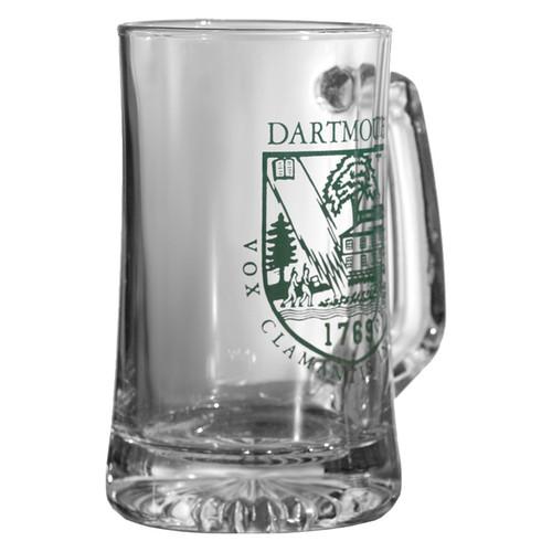 Beer Mug with Green Dartmouth Shield