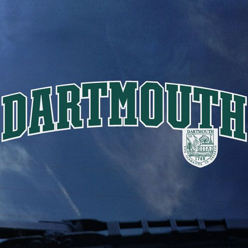 Arch Dartmouth with Shield Decal - EXTERIOR