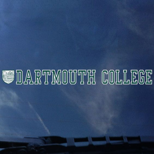 Long-letter Dartmouth Decal - EXTERIOR