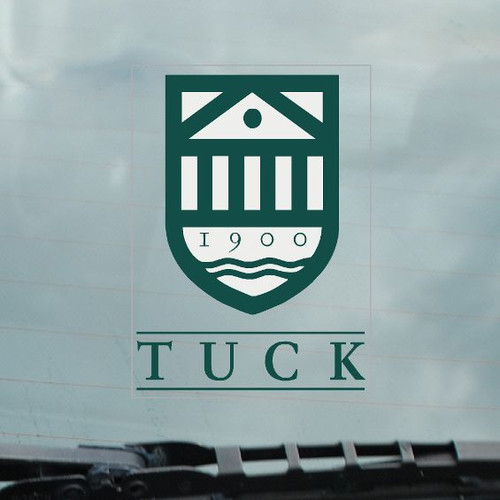 Tuck School of Business at Dartmouth decal in green