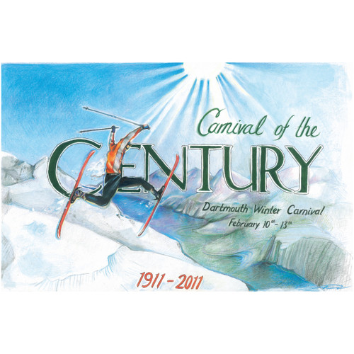 Signed Winter Carnival 2011 Poster