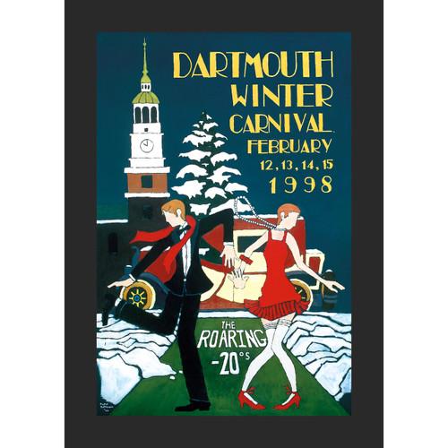 Framed 1998 Winter Carnival Poster