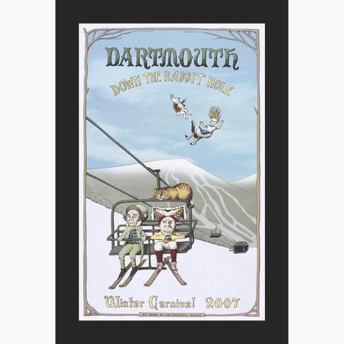 Framed 2007 Winter Carnival Poster