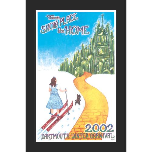 Framed 2002 Winter Carnival Poster