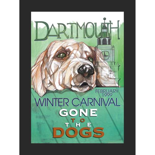 Framed 1999 Winter Carnival Poster