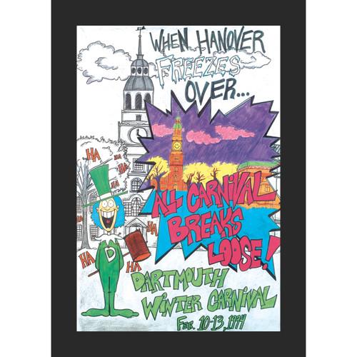 Framed 1994 Winter Carnival Poster