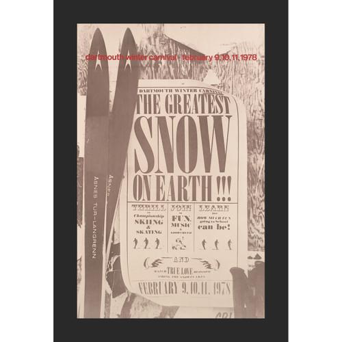 Framed 1978 Winter Carnival Poster