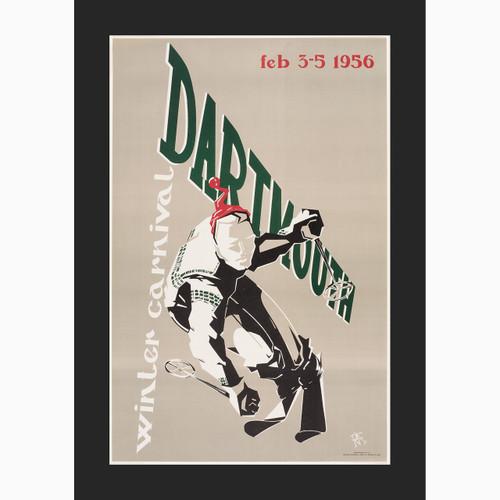 Framed 1956 Winter Carnival Poster