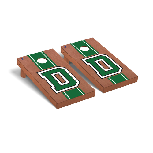 Rosewood Stain D Cornhole Boards Game Set Dartmouth