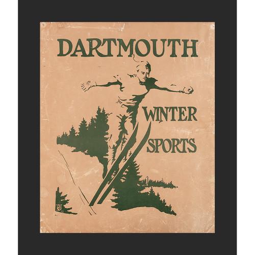 Framed 1911 Winter Sports Carnival Poster