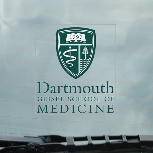 Dartmouth Geisel School of Medicine Decal
