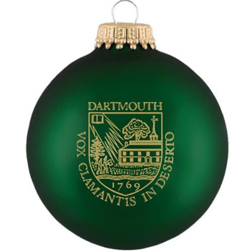 Green Dartmouth Shield Ornament