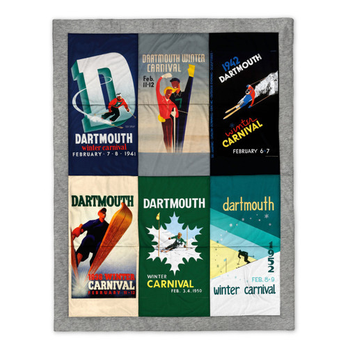 Dartmouth Winter Carnival Poster Quilt