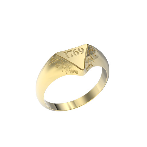 Ring Mini Delta 1769 10K Gold