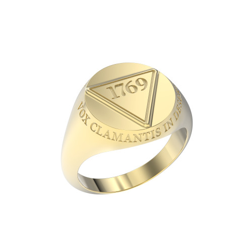 Ring Founder's Large 1769 10K Gold with Outer Text