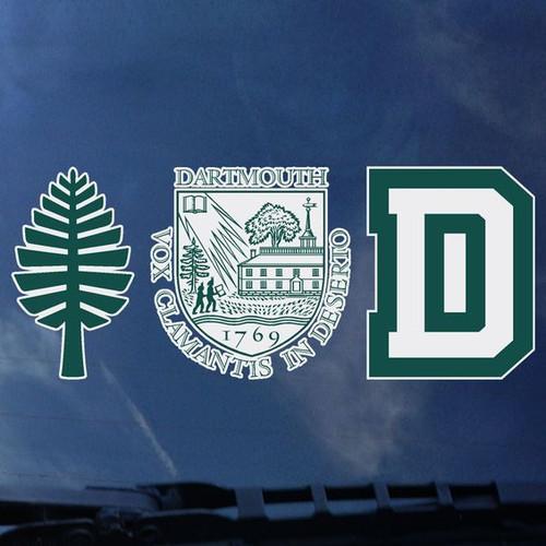 3-Pack Set of Decals - EXTERIOR Dartmouth