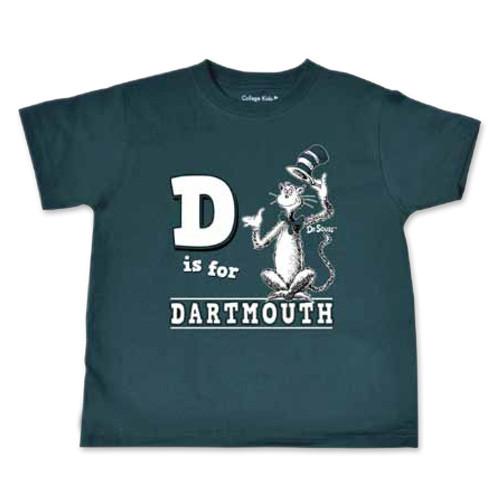 3b678980 Seuss Cat D For Dartmouth Toddler T-shirt