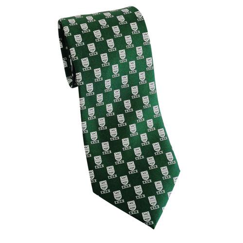 Tuck Shield Silk Tie