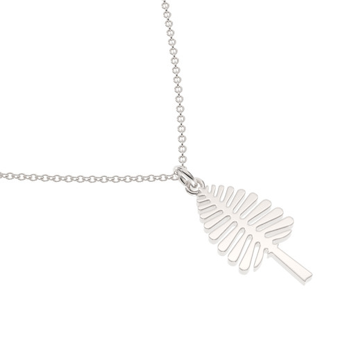 Sterling Silver Lone Pine Necklace