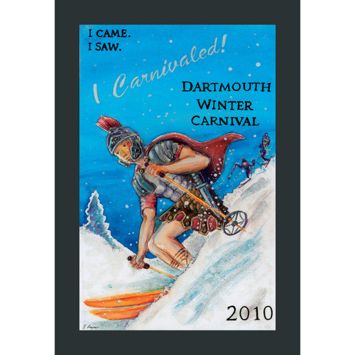 Framed 2010 Winter Carnival Poster